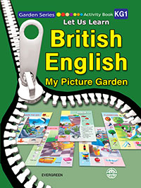 British English-Activity Book -My Picture Garden KG1
