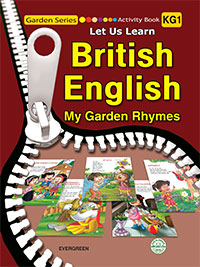British English-Activity Book -My Garden Rhymes KG1